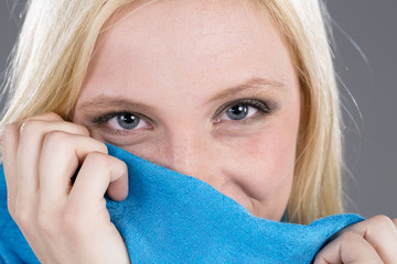 Blonde Portrait Model