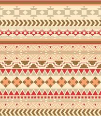 native seamless pattern vector