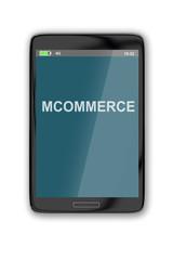 Mcommerce concept
