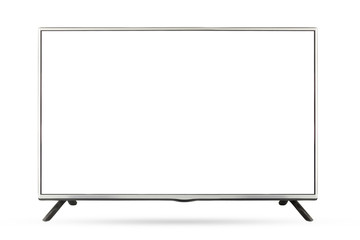New design TV or monitor landscape isolated on white background,