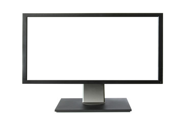 Wide lcd monitor with empty screen