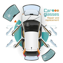 Car Glasses Repair and Replacement