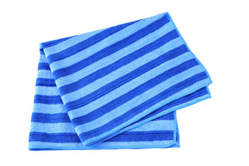 A beach towel isolated against a white background
