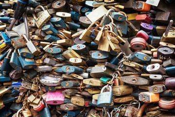 Locks of love background