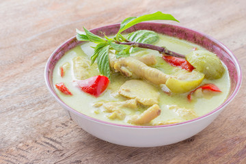 Green-curry-with-chicken