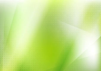 Abstract bright green futuristic background