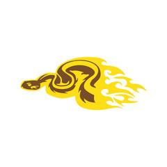 Snake Flame