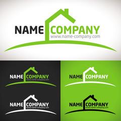 logo construction maison agence gestion