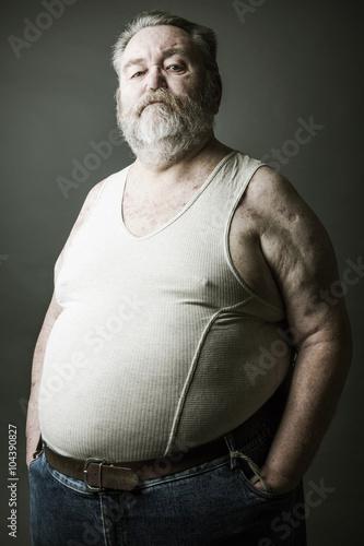 Alter Dicker Mann