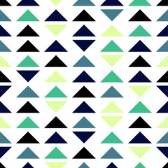 Seamless geometric pattern of triangles