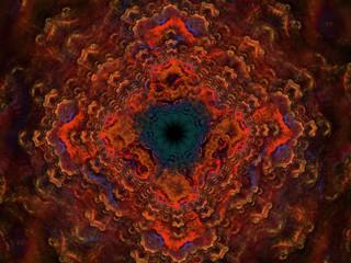 Fractal Pattern Mandala / Fraktal Muster Mandala