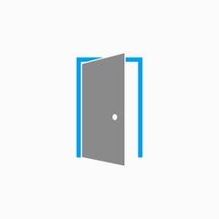 Door - vector icon.