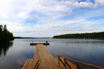 Russie , lac Onéga
