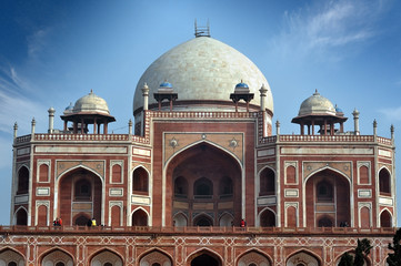 Printed roller blinds Delhi Humayun's Tomb in Delhi