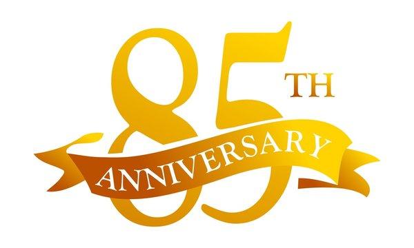 85 Year Ribbon Anniversary