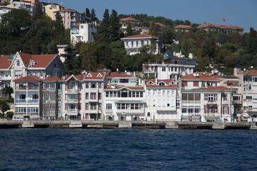 Buildings in Bosphorus Strait