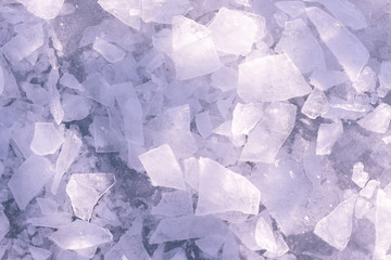 ice pieces background texture
