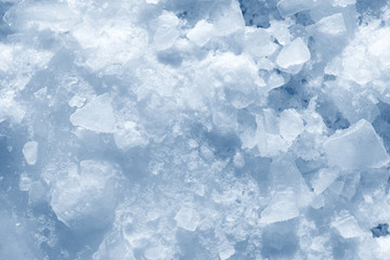 ice pieces and snow background texture