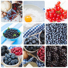Fruit background. Cooking.