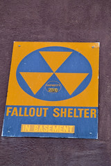 Fallout Shelter Sign - something from the past