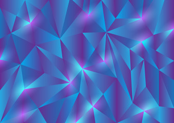 Abstract Triangle Texture Background
