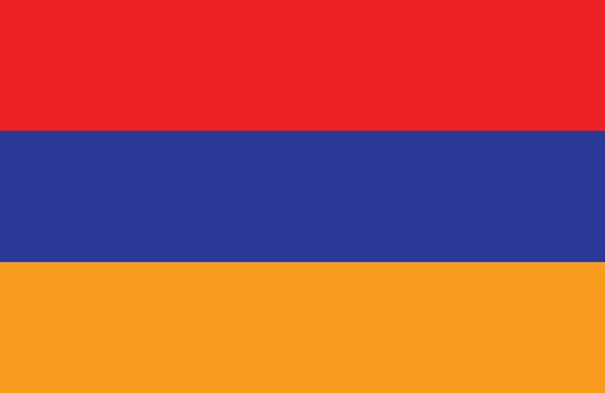 Armenian flag.