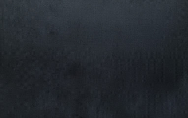 Close up black fabric texture background