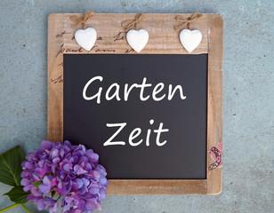 Garten Zeit - Gartensaison