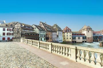Strasbourg, bridge Ponts St. Martin