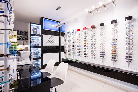 Selection of eyeglasses