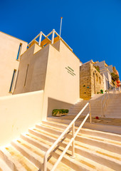 Museum of contemporary Art at Chora of Andros island in Greece