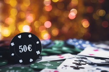 Poker chips 50 euro