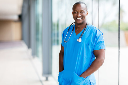afro american medical doctor
