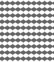 Geometric pattern, stylish monochrome