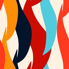 Modern abstract art seamless pattern