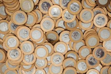 Brazilian 1 Real coins