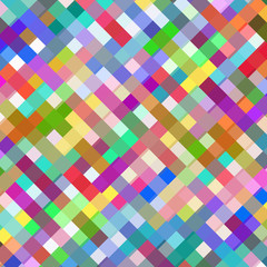 Abstract colorful squares design background