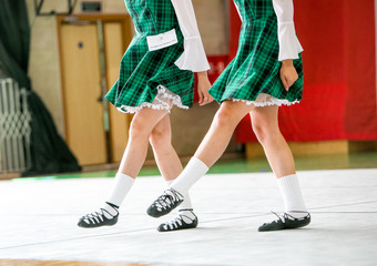 Irish dancing legs