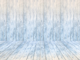 empty wooden ice panel background and wooden ice floor or table.