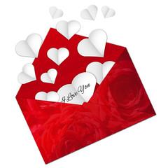 Valentine romantic vector