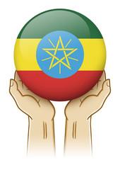 Pray For Ethiopia Illustration
