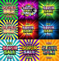 Super Sale Today background for your promotional posters,
