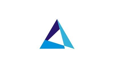 triangle shape vector logo