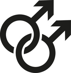 Gay signs icon