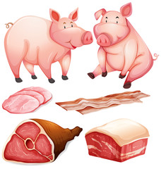 Pig and pig products