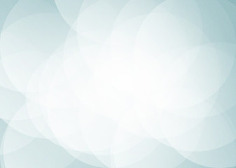 Blue sky Bright Circle Overlap abstract background