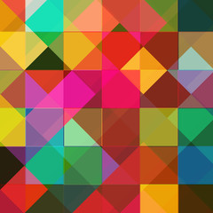 Abstract colorful background from squares