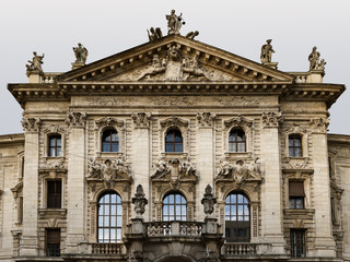 Landgerichts Justizpalast München hochauflösend hd Gebäude