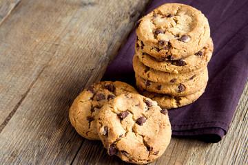 Wall Murals Cookies Chocolate chip cookies