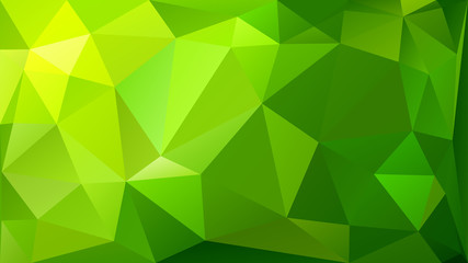 Abstract low poly background of triangles Wall mural